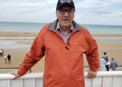 At Omaha Beach 75 years later